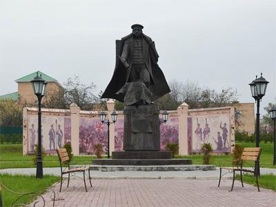 Изготовление памятника М.И. Кутузову и ополченцам 1812 г. в Московской области