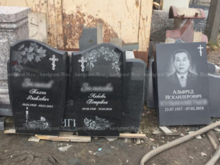 Изготовление памятников и надгробий - фото работ