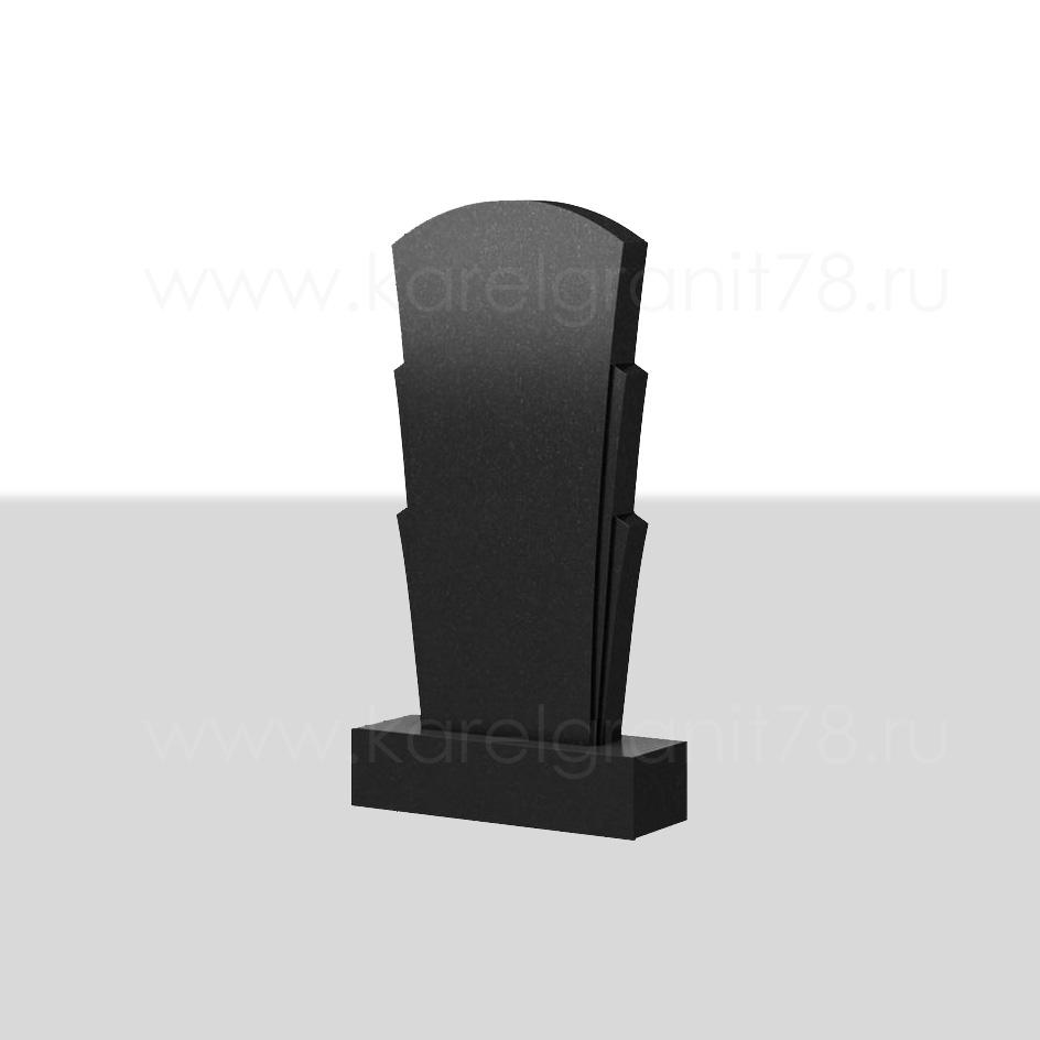 Памятник с тремя симметричными многоуровневыми боковинами №28