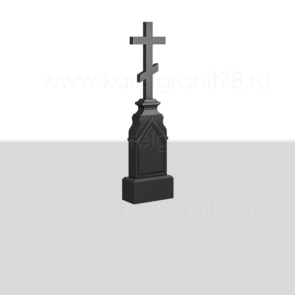 Памятник — часовня 60×30 см с большим крестом сверху №282